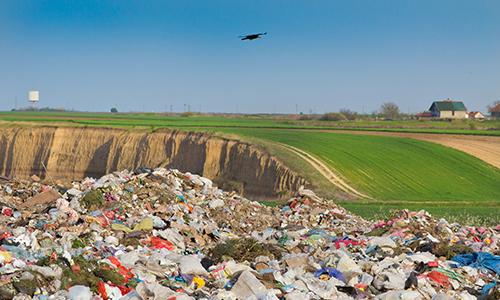 Disposição final de resíduos
