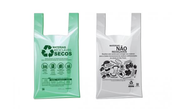 Proibição de sacolas plásticas no RJ.