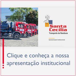 Apresentação Institucional Santa Cecília Resíduos
