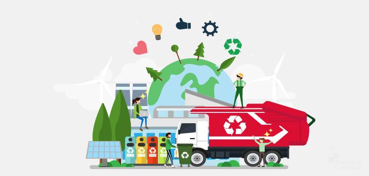 Como funciona a Gestão de Resíduos