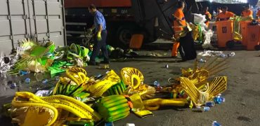 Lixo Carnaval Rio 2020